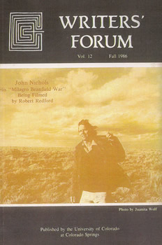Writers' Forum Volume 12 by Alexander Blackburn