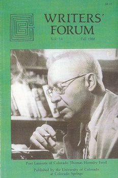 Writers' Forum Volume 14 by Alexander Blackburn
